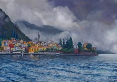 Clouds over Varenna