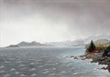 Dunskeig Bay by John Rowland, Painting, Pastel on Paper