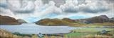 Loch Seafort by John Rowland, Painting, Pastel