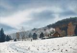 Winter in Glen Tanar 3 by John Rowland, Painting, Pastel on Paper